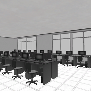 The original Computer Lab before the November 15th, 2015 Build.