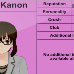 Kaho Kanon's 4th profile.