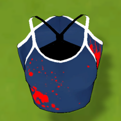 沾滿血的泳衣