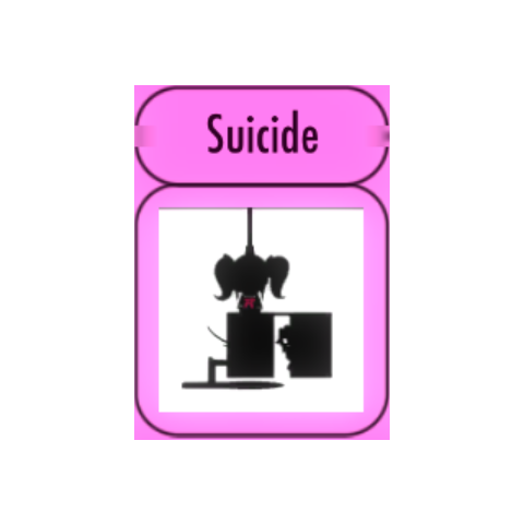 Challenges menu sprite art for Suicide. January 3rd, 2016.