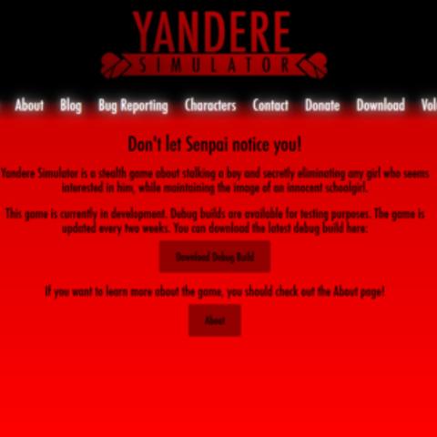 暗紅色的網站