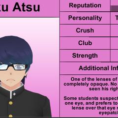 Daku's 1st profile.