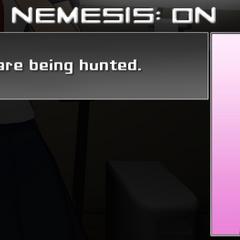 Nemesis on the Mission Mode menu.
