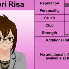 Shiori's 6th profile. February 1st, 2016.