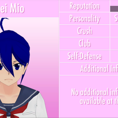 Mei's 11th profile. June 1st, 2016.