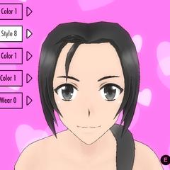 前輩頭髮造型(舊版本)#8