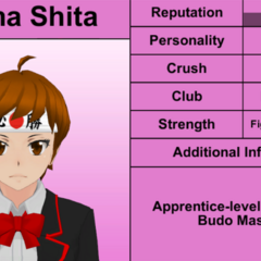 Shima's 5th profile. February 17th, 2016.
