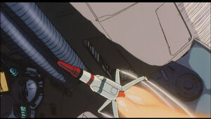 Nuclear fusion missile