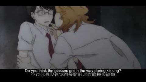 Doukyuusei - Hidden Kiss Scene (LMFAO)