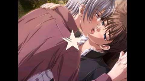 Yaoi kiss
