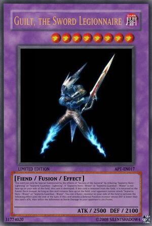 Guilt, the Sword Legionnaire