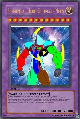 Elemental Hero God Neos Elemental HERO Ultimat...