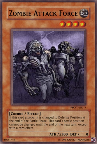 Zombie Attack Force | Yu-Gi-Oh Card Maker Wiki | FANDOM ...