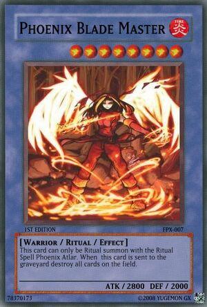 Phoenix Blade Master
