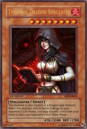 Tyrannic Dragon Sorceress