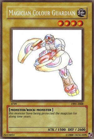 Magician colour guardian
