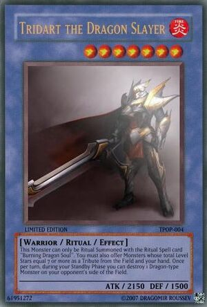 TPOP-004 Tridard the Dragon Slayer