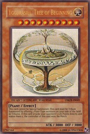 Yggdrasill, Tree of Beginning