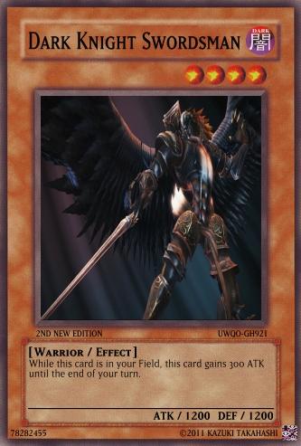 Dark Knight Swordsman | Yu-Gi-Oh Card Maker Wiki | FANDOM ...