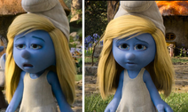 Smurfette Collage