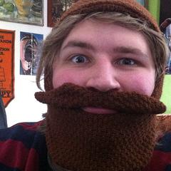 Fred grew a beard.