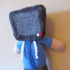 A knitted version of Teutron's old <a href=