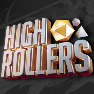 High Rollers D&D logo (Episodes 1 & 2)
