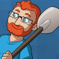 Simon as he appears on Yogscast.com's background and this wiki.