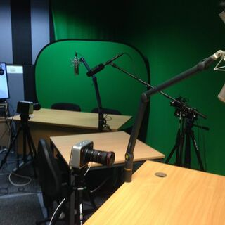 Former livestream set-up