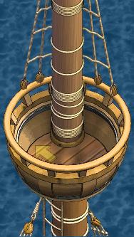 Grand frigate Aft Crow's Nest