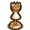 Trophy-Bronze Hourglass