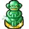 Trophy-Jade Monkey