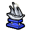 Trophy-Silver Xebec