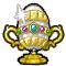 Trophy-Gilded Egg