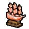 Trophy-Bronze War Frigate