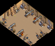 Merchant brig Main Hold