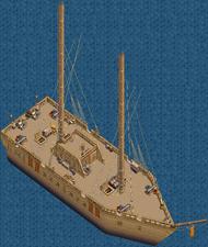 War brig Main Deck