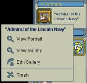 Portrait inventory