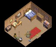 Merchant brig Cabin