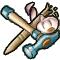 Trophy-Hammer and Sharpened Pegleg