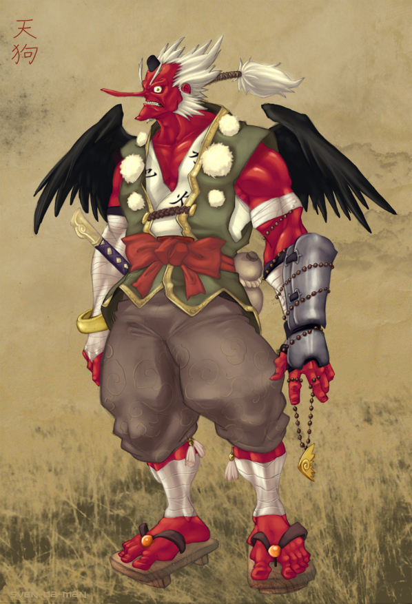 tengu yokai wiki fandom powered by wikia