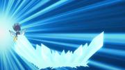 Blizzaria using Shiny Snowdrifts