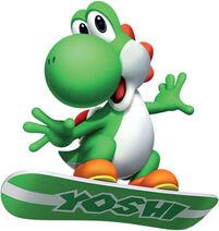 Yoshi Snowboard