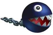 Close up of Chain Chomp