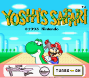 Title Screen - Yoshi's Safari