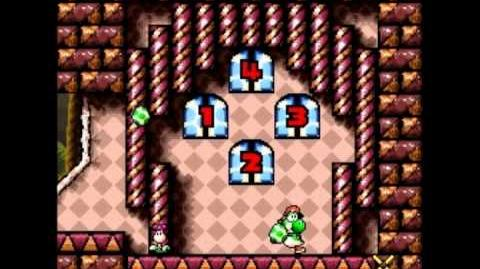 Yoshi's Island How to get Door 4 consistantly in World 6 Stage 8