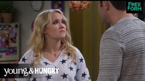 Young & Hungry Season 5, Episode 1 Gabi and Josh's Jealousy Fight Freeform