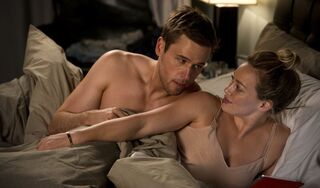 Kelsey & Thad in bed