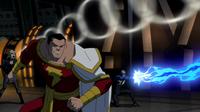 Black Canary, Captain Marvel and Black Lightning take on Savage