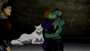 Lagoon Boy and Miss Martian